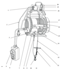 Palan electrique -PH400