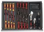 Servante d'atelier complete 397 outils