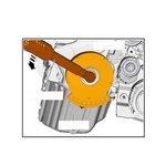 Kit de test d'usure de chaine de distribution VAG, Seat, Skoda