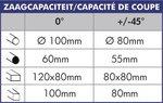 Tronconneuse  350 mm 20/40 tpm