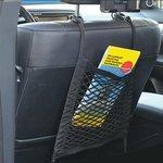 Filet de rangement elastique 26x28cm double avec crochets plastique NS-7