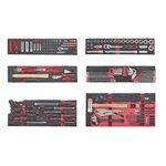 Caisse outils avec 187 pcs d'outils