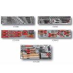 Coffre a outils a 5 niveaux avec outils 110pcs (isole) (S & M)