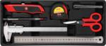 Servante d€™atelier 7 tiroirs, 1 porte lat erale avec 197 outils