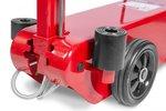 Cric rouleur hydro-pneumatique 25-50 t avec manche fixe