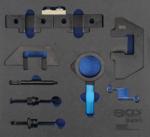 Insert de servante datelier 2/3 : Coffret de calage pour BMW M42, M43, M50, M52, M60, M51