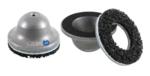 Meuleuse de moyeu de roue cloche en aluminium avec noyau en acier interieur 80 mm