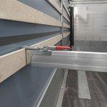 Poutre d'arrimage aluminium 2400-2700mm