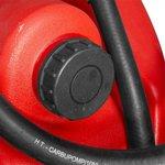 Cuve diesel rouge 110 l, pompe piusi 12 v tuyau + pistolet auto