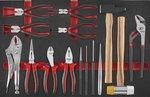 Servante d'atelier R&B 180 outils