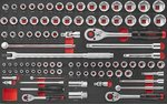 Servante d'atelier Practical 208 outils