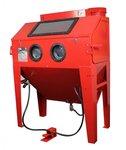 Cabine de sablage 420 liter avec aspiration