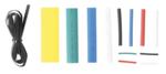 Assortiment de gaines thermoretractables couleurs 171 pieces