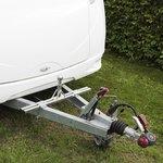 Adaptateur sur fleche de caravane pour porte-velo (modele bas)