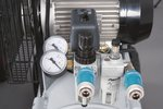 Compresseur a courroie huile cuve galvaniee 10 bars - 100 liter