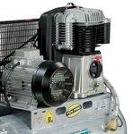 Chaudiere compresseur d'huile galvanisee avec entrainement par courroie 10 bar - 100 litres 99 kg