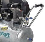 Chaudiere galvanisee compresseur d'huile 10 bars, 112 kg - 100 litres