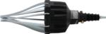 Outil pneumatique de montage de soufflets d'essieu