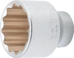 Douille pour cle, douze pans 20 mm (3/4) 55 mm