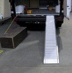 Rampe en aluminium pliable 200kg