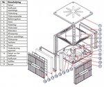 Ventilateur refroidisseur 18000 m³/h