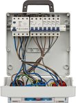 Repartiteur mural 4/32 IP44 4x LS 230V/16 A, 1xLS 400V/16 A, 1xFI 40 A 4 poles 30mA