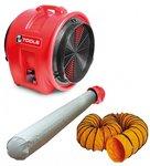 Ventilateur MV400PP avec accessoires