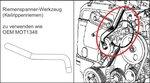 Coffret de calage pour Renault, Volvo, Ford 16V, 20V a essence
