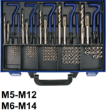 Kit de reparation de filets M5 - M12 - 130 pieces_