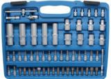 Coffret de Douilles à profil ondulé 6,3 mm (1/4) / 12,5 mm (1/2) 108 pièces_