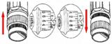 Jeu de cles dynamometriques 40 - 210 mm 11 pieces_