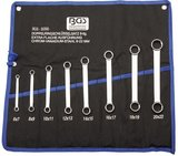 Ensemble a douille double a 8 pieces, extra plat, 6-22 mm_