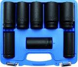 3/4 douilles Impacts, 22-38 mm, long 90mm 8 pieces_