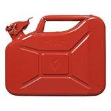 Jerrycan 10L metal rouge UN- & TuV/GS-approuve_