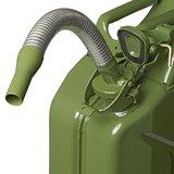 Bec verseur métal flexible Convient pour l'essence et le diesel_