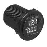 Volt-Ampèremètre à encastrer numérique 6-30V / 0-10A_