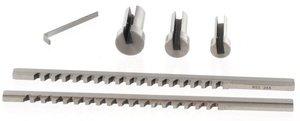 Composition des broches a pousser HSS 2 - 3 mm 5 pcs