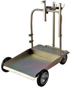 Trolley heavy duty vaten 200 liter vet/olie/adblue