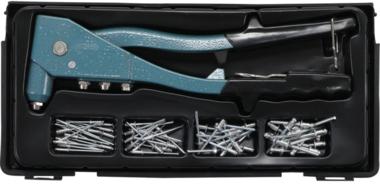 Jeu de pince a riveter 2,4 / 3,2 / 4,0 / 4,8 mm 250mm