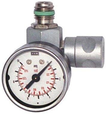 Regulateur de pression en ligne avec manometre