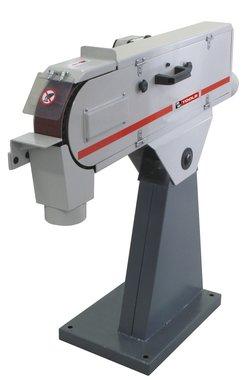 Ponceuse a bande 75x2000 mm 3x400v avec frein moteur 75kg