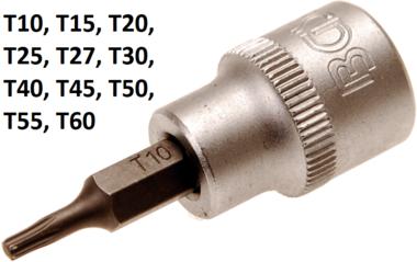 3/8 Socket Bit pour vis T-STAR (sans trou) T10