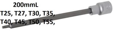 Prise 1/2 Bit, T-Star, T25 x 200 mm