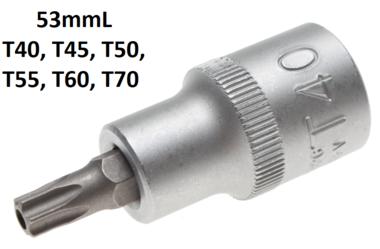 1/2 T-Star Bit Socket, Tamperproof, T40