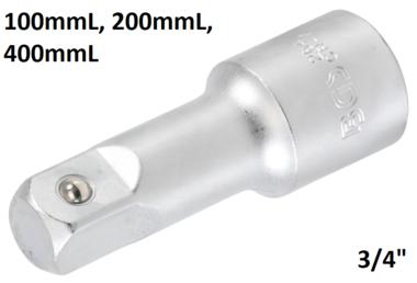 Barre d'extension 3/4, 100 mm