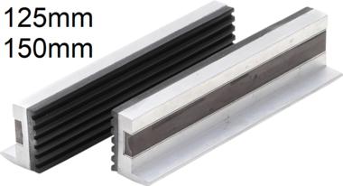 Protecteur a m choires a 2 pieces en aluminium, en aluminium, 125 mm