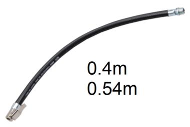 Tuyau de rechange pour pistolets de gonflage 0,4 m