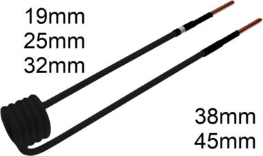 Bobine d'induction, 19 mm, pour chauffe-induction BGS 2169