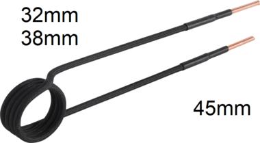 Bobine d'induction, 32 mm, pour chauffage par induction BGS 2169