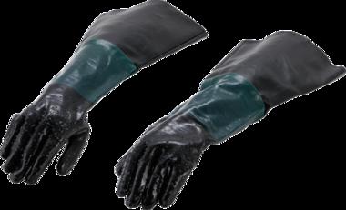 Gants de rechange pour cabine de sablage air comprime pour art. 8717